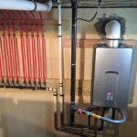 Installed a rinnai tankless water heater and new pex manifold for hot water delivery in Point Pleasant, NJ