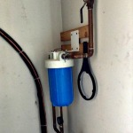 Whole house water filter.